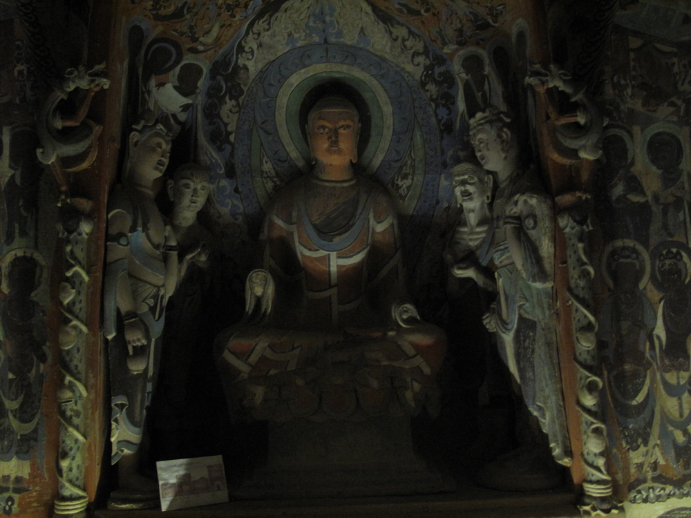 Copy of a sculpture from Mogao Caves