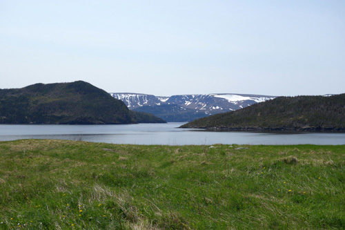 Tablelands in Gros Morne National Park at the westcoast of Newfoundland