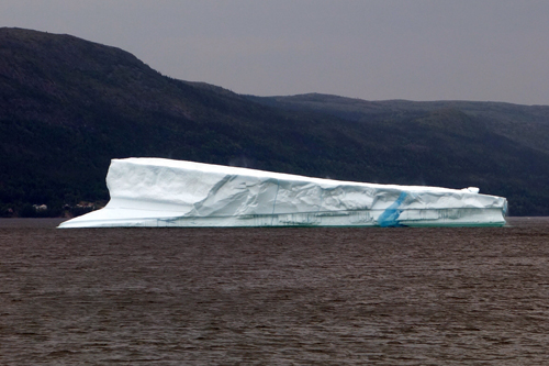 iceberg aground at King's Point